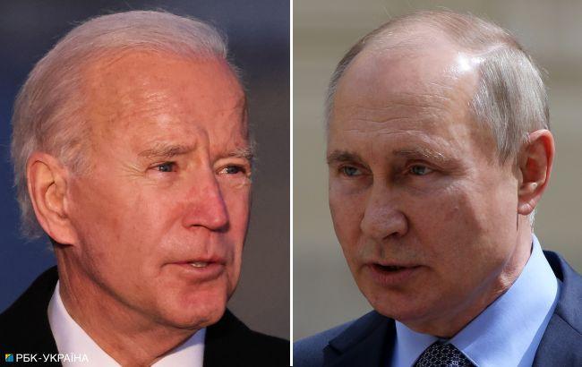 Стартовали переговоры Путина и Байдена. Начали с рукопожатия