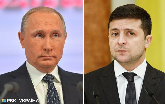 У Росії заявили про перервану розмову Путіна і Зеленського