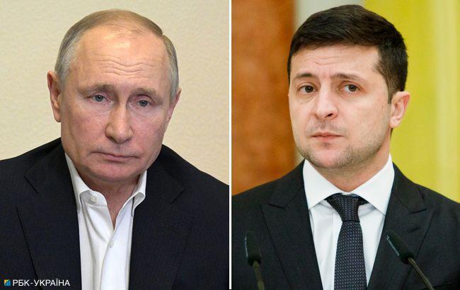 У Путина исключили встречу с Зеленским с обсуждением Крыма