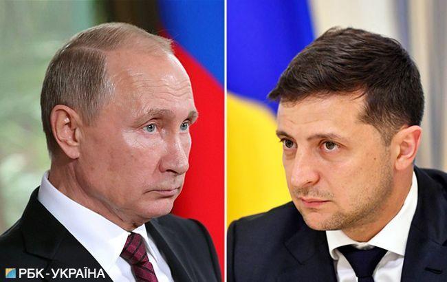 Нормандська зустріч: рукостискання Путіна і Зеленського не було