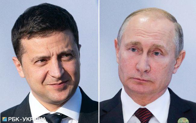 Зеленський потиснув руку Путіну під час знайомства, - Пєсков
