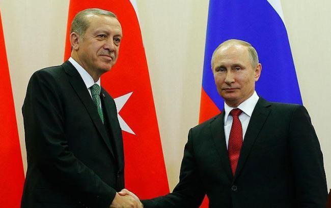 Фото: Реджеп Таїп Ердоган і Володимир Путін (aa.com.tr)