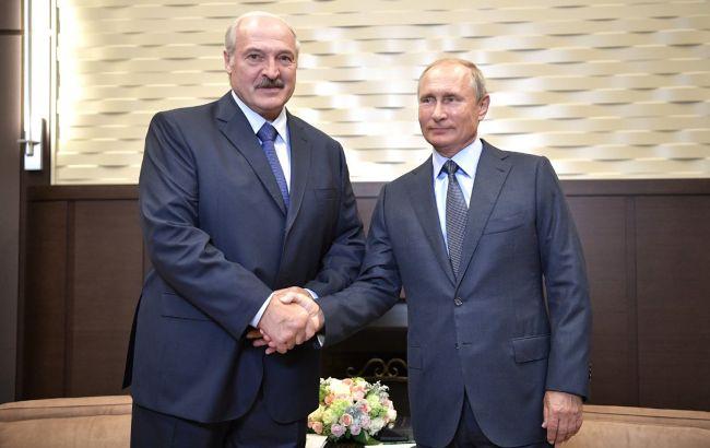 Встреча Путина и Лукашенко в Сочи закончилась