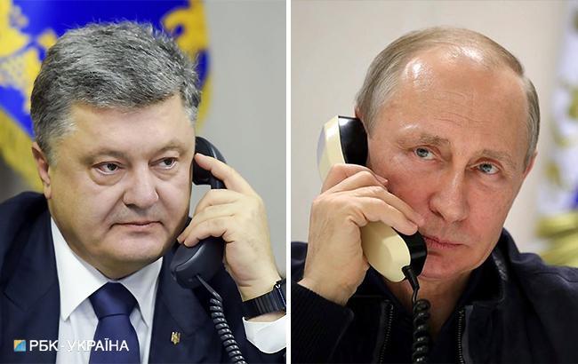 Фото: Петр Порошенко и Владимир Путин (коллаж РБК-Украина)
