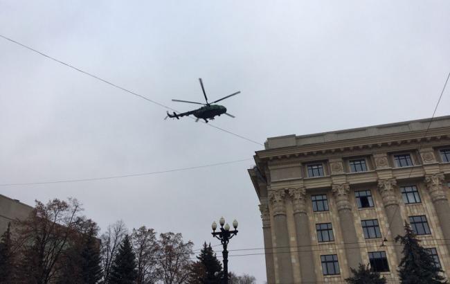 Фото: антидиверсионные учения в Харькове