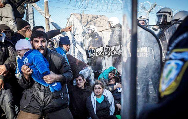 Фото: біженці в Європі (facebook.com/beroeva)
