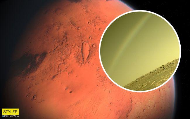 """Ученые нашли объяснение загадочной """"радуге"""" на Марсе"""