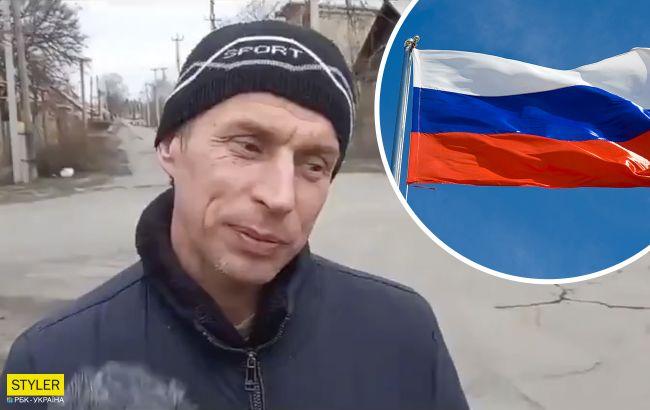 """Луганчанин, який втік до Росії, поскаржився на умови у """"процвітаючій країні"""": морок і злидні"""