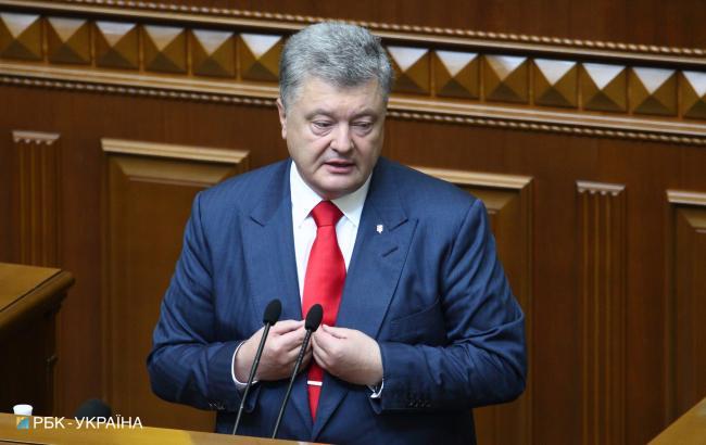 Порошенко призвал представителей США и Европарламента усилить санкции против России