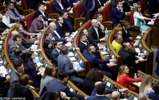 Рада может рассмотреть законы о тарифной политике на внеочередном заседании