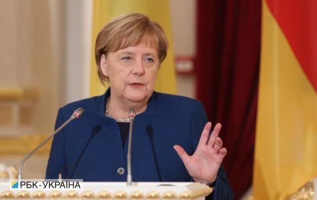 Меркель призвала немцев к единению