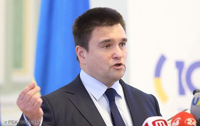 Климкин пообещал «давить наРоссию» ввопросе размещения миротворцев