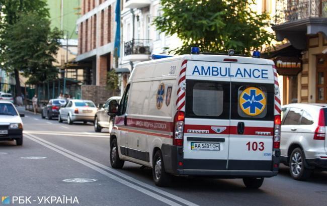 В Киеве водитель автомобиля насмерть сбил пешехода