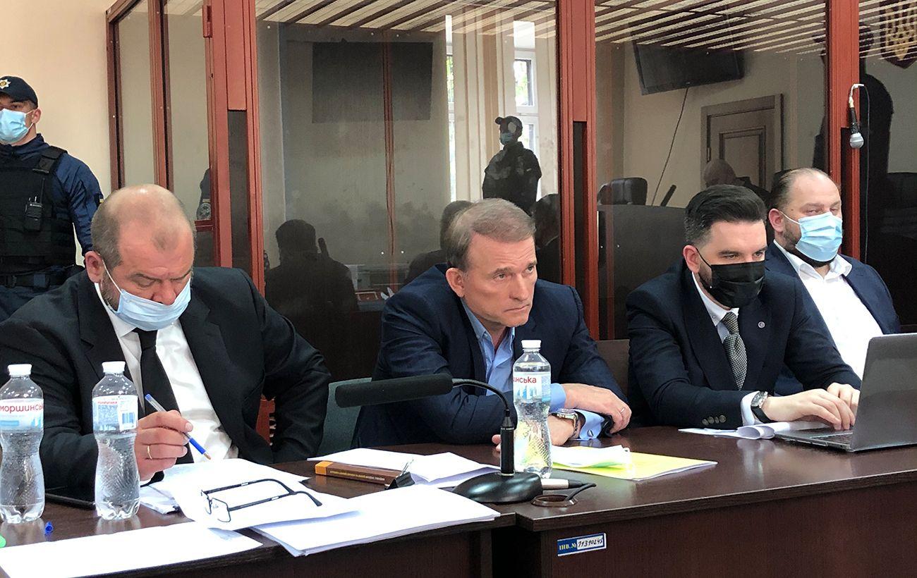 Суд над Медведчуком: прокурор просит об аресте до 10 июля
