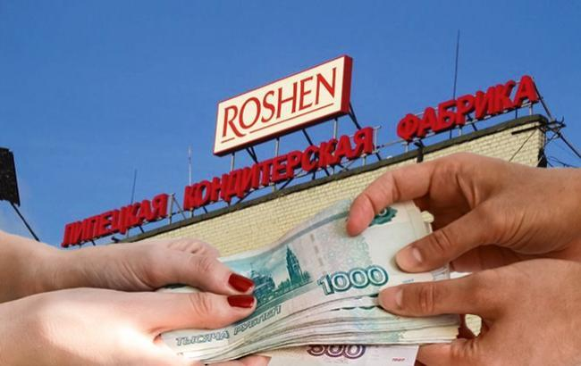 Фото: суд продлил арест имущества липецкого Roshen (коллад РБК-Украина)