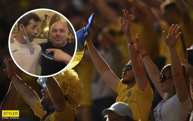 """Появилось видео реакции украинских футболистов на проход в плей-офф: """"Спасибо, Швеция!"""""""