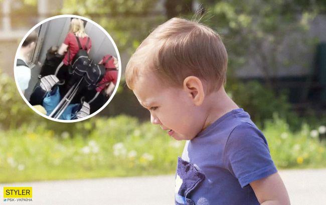 """В Одесі на відео потрапило """"виховання"""" маленької дитини: тато і мама били по черзі"""