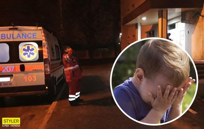 В Черновцах ночью на улице плакал навзрыд и звал маму 3-летний мальчик (видео)