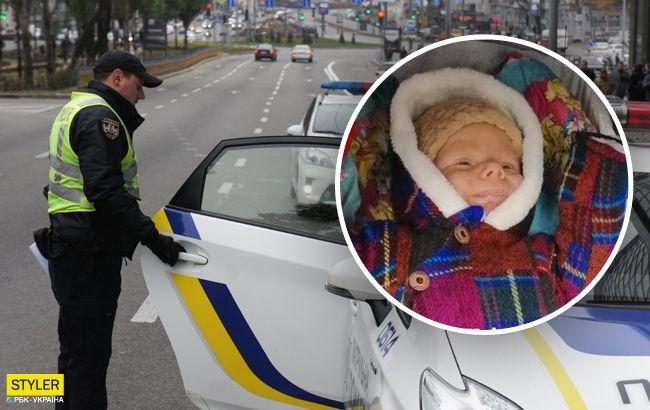 Под Киевом украли трехмесячного младенца: приметы похитителя (фото)