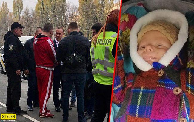 Жива! Викрадену під Києвом дитину знайшли (фото)