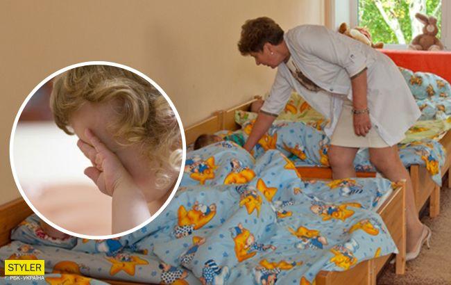 Хотели успокоить: под Днепром годовалую девочку переворачивали головой вниз