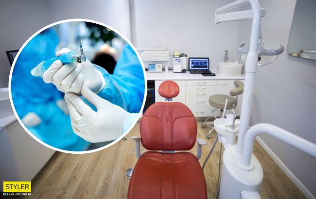 6-річний хлопчик на прийомі у стоматолога проковтнув голку: дантист працював нелегально