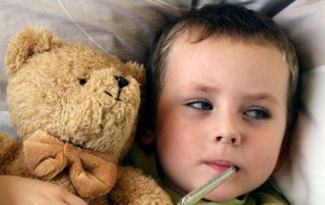 Фото: заболевший ребенок (pervenets.com)