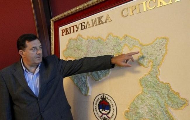 США ввели санкции против лидера Республики Сербской Милорада Додика