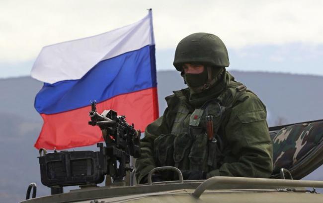 Фото: військовослужбовці РФ