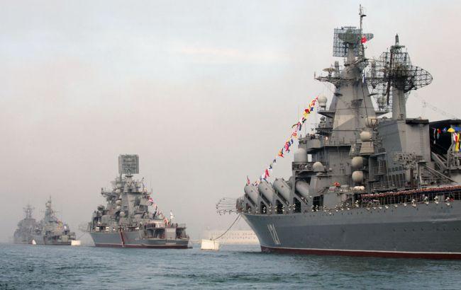 Фото: навчання біля Криму