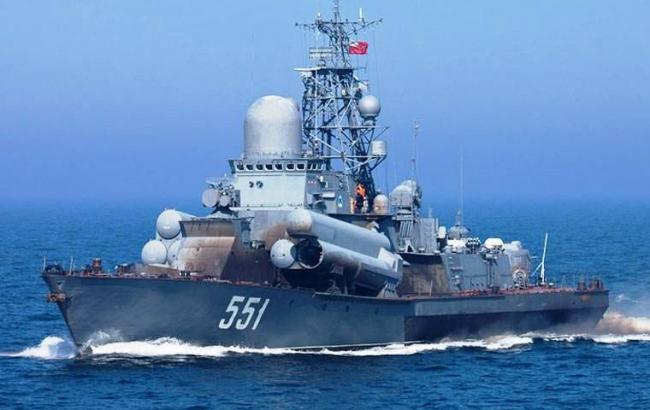 Латвія заявила про наближення кораблів РФ до своїх кордонів