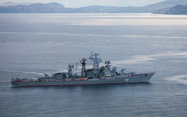 Корабель РФ влаштував провокацію в районі навчань Sea Breeze