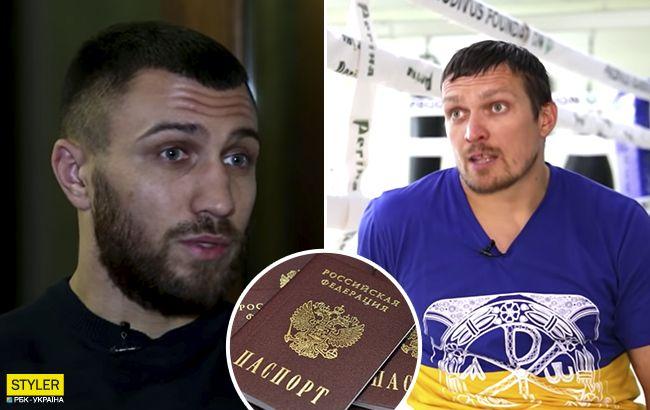 """В России бросились на """"защиту"""" Усика и Ломаченко: хотят предоставить гражданство"""