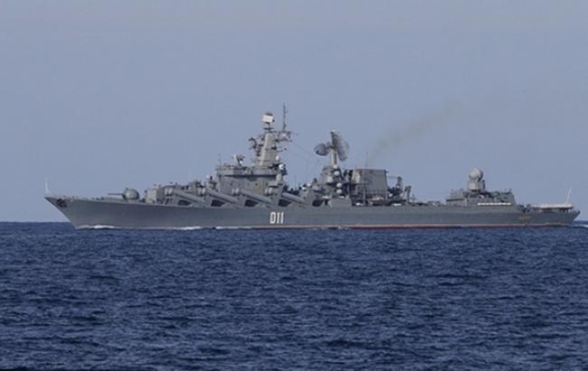 ВС Латвии зафиксировали корабль РФ вблизи территориальных вод