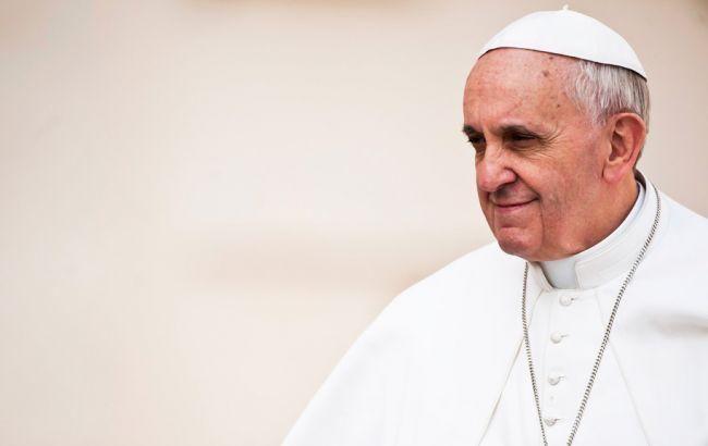 Фото: Папа Римський Франциск