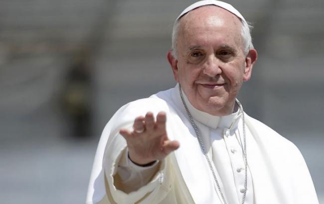 Фото: Папа Римский (dialog.ua)