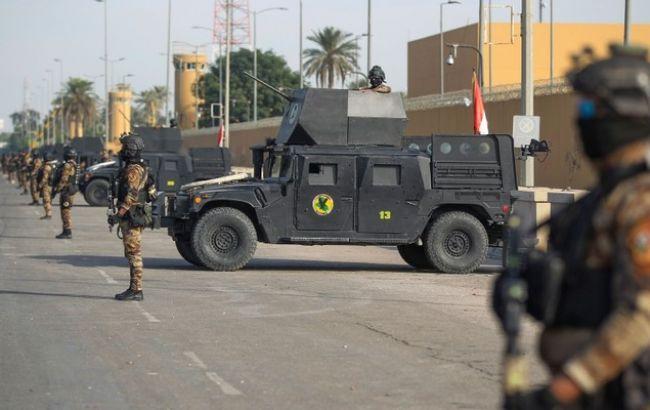 Біля посольства США в Багдаді впали кілька ракет