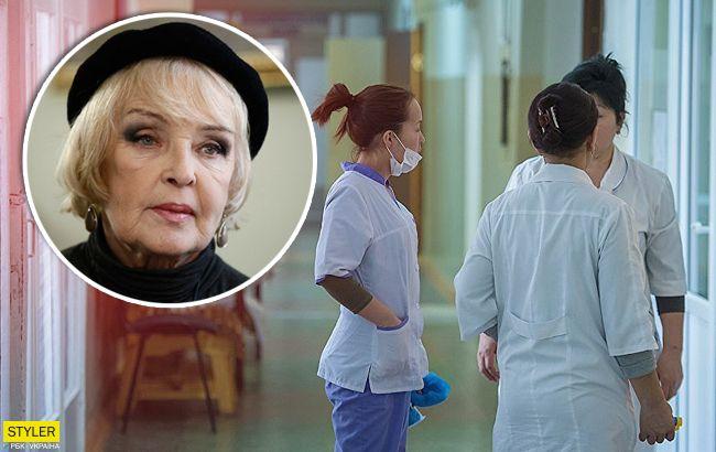 Попала в больницу: Ада Роговцева всерьез напугала украинцев