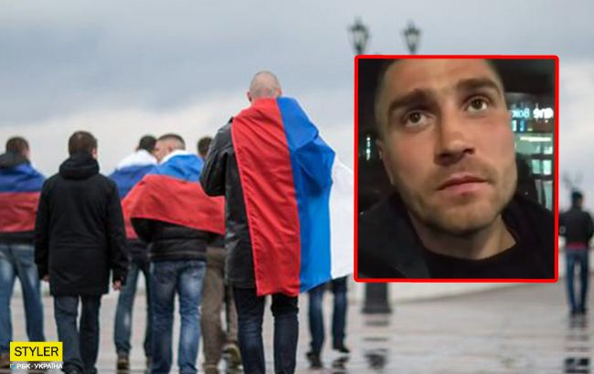 Кримнашист попався: деталі скандалу на київському вокзалі (відео)