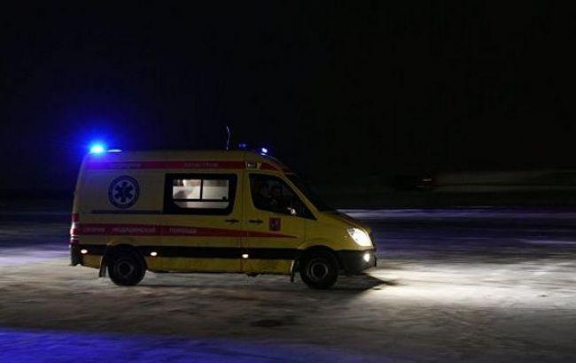 У Росії автобус з українцями зіткнувся з вантажівкою, є постраждалі