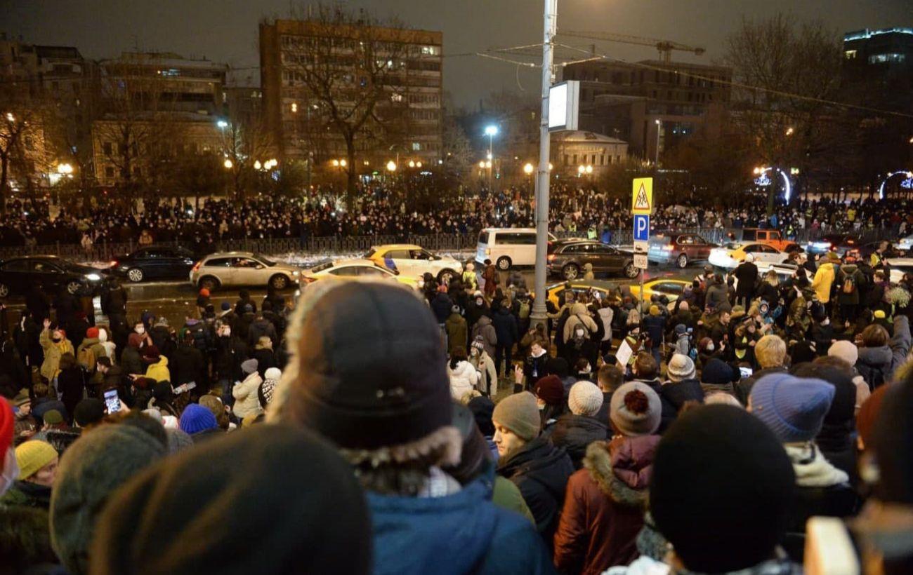 Протесты по всей России. Как прошли митинги за Навального (онлайн)