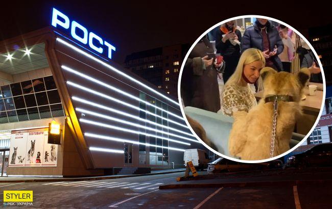 Український супермаркет потрапив у скандал: розважав покупців змученою твариною
