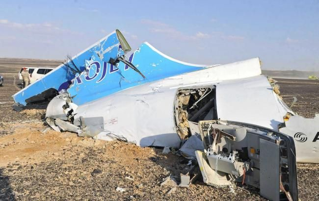 Фото: обломки самолета А-321
