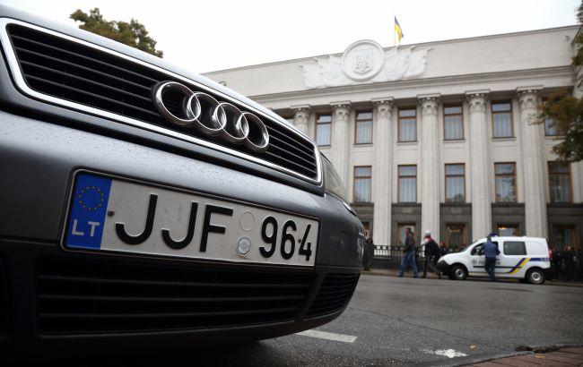 """Растаможка """"евроблях"""" за 1000 евро: водителям готовят настоящий подарок"""