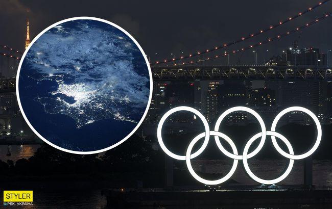 Олімпійські ігри з космосу: NASA показала неймовірні фото Токіо