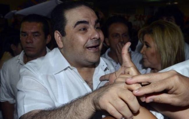 Фото: президент Сальвадору Еліас Антоніо Сака звинувачується у привласненні мільйонів доларів
