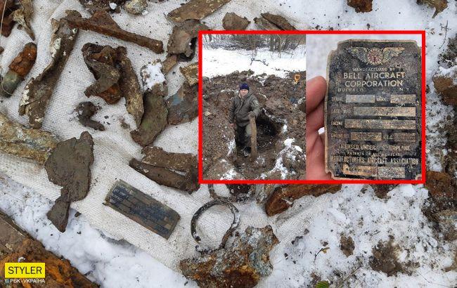В Украине раскопали американский истребитель времен Второй мировой войны