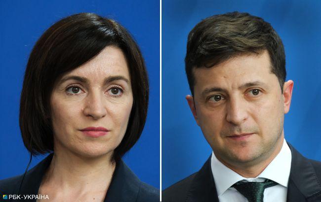 Зеленский сегодня проведет разговор с президентом Молдовы