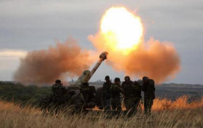 Фото: боевики обстреляли Водяное под Мариуполем