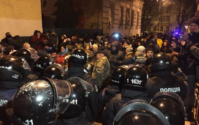 ВКиеве задержали Михеила Саакашвили идоставили визолятор